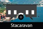 Stacaravans aan het Gardameer