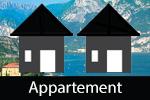 Appartementen aan het Gardameer